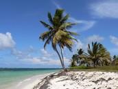 Playas con aguas cristalinas y ambiente caribeño