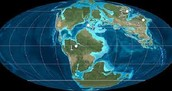 Pangea breaking apart