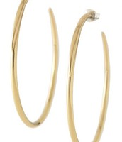 Signature Hoop- Gold $10