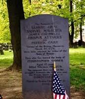 Crispus Attucks Grave