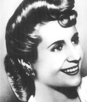 Eva Peron at age 16