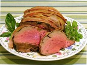 Sample Recipe: Bacon Herb Tenderloin Roast