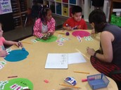 Adding with Aliens in Mrs. Unger's classroom.