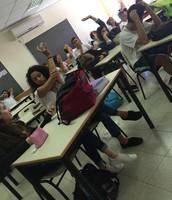 תמונה מן הפעילות של ילדי הכיתה