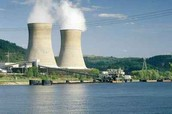 Nuclear Power Plant in Ohio River