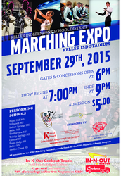 KISD Marching Expo 2015