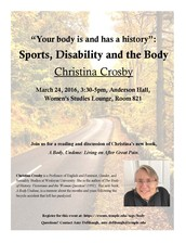 Sports, Disability, and the Body Talk