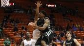 UNT Men's Basketball team wins against A&M