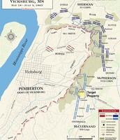 Map of the Anaconda Plan