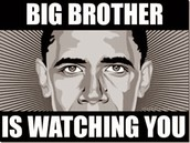 Big brother is watching you (1984 reference)