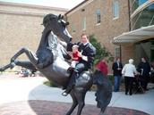Graduation from Texas Tech