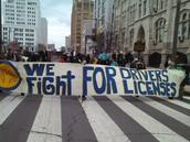 Saliendo a las Calles a marchar por nuestro derecho a la Movilidad