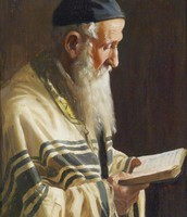 A Painting of A Rabbi