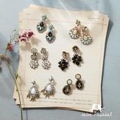 Aventine, Bella Fiore, Portico, Trevi earrings