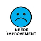 Needs improvment