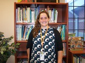 Mrs. Hunter- Library Assistant