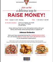 Support Johnson Orchestra