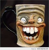 Happy go lucky mug
