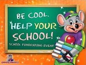 Chuck-E-Cheese FUNdraiser in North Little Rock -  May 24th