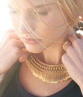 SOLD! Tansy Fringe Necklace
