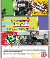 Northwest Reads April 29th from 9:00-10:00am