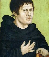 Martin Luther Becoming a Monk