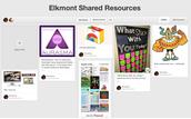 EHS Shared Resources Pinterest Board