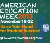 American Education Week Spirit Week starts Monday!