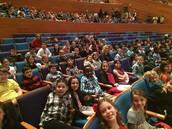 Clear Creek students had a wonderful time enjoying the Kansas City Symphony.