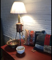 Copper Steam Genery Table Lamp by Salvage Arts - $185