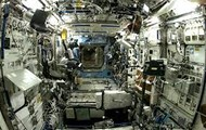 Inside of the ISS