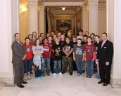 The 6th Grade Visited the State Capitol and Spoke with Our Senator and Representative!