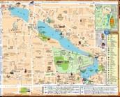 Street Map of Qufu, China