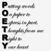 Express yourself through words.