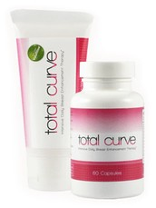 Total Curve is a daily breast enhancement that can increase breast size by up to 8.4%.