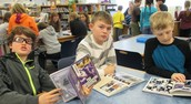Enjoying our graphic novels