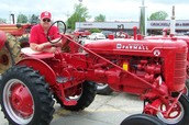 The first ever Cleatus Cleatus tractor show