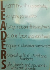 In Mrs. Snyder's Classroom we are...