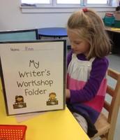 Writer's hard at work!