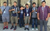 Winners on the High School/VEX Robotics competitions: