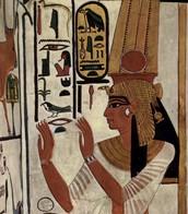 Wall Painting of Nefertari