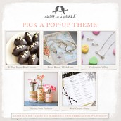 February Pop Up Themes!