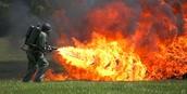 A modern day flamethrower