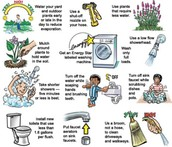 Ways to conserve water?