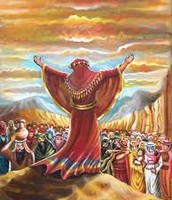משה ובני ישראל
