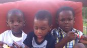 My Grandsons - Tilan, Trece & Drayce