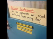 Mission statement in Hudgins and Leavens K room