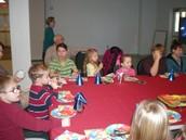 Fun at Jesus' Birthday Party