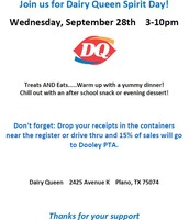 Dooley Dairy Queen Family Spirit Day