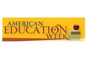 Celebrate Education Week - Oct 13-17